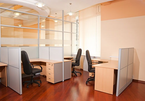 Modern office interior  - workplace